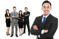 Group of asian young businessperson Stock Images