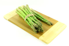 Group of asparagus. Royalty Free Stock Image