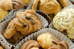 Group of assorted cookies Stock Images