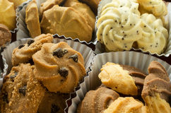 Group of assorted cookies Royalty Free Stock Images