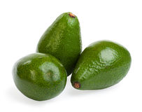 Group avocado. Isolated on a white background Stock Image