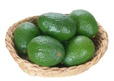 Group Avocado royalty free stock photo