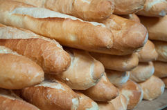 Group of Baguette Stock Photography