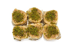 Group of baklava 1 Royalty Free Stock Image