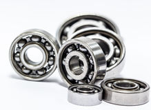 Group Ball bearing. The ball bearing isolated on white background Stock Image
