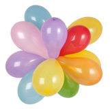 Group of balloons royalty free stock photos