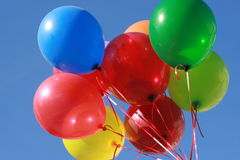 Group of balloons Stock Photo