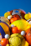 Group of balls  Royalty Free Stock Images