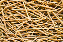 Group of bamboo sticks Royalty Free Stock Photo