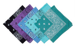 Group of  bandana Royalty Free Stock Image