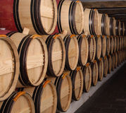 Group of barrels Stock Photography