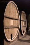 Group of barrels Royalty Free Stock Photos