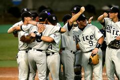 Group of Baseball Player Cheering Royalty Free Stock Images