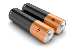 Group of batteries i Stock Photos