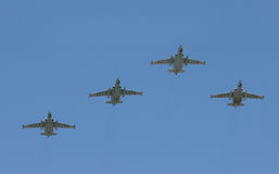 Group of battle-planes Stock Photography