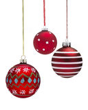 Group of Baubles Stock Images
