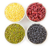 Group of beans Stock Photography