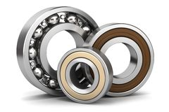 Group of bearings  Stock Image