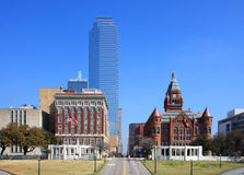 Beautiful buildings in downtown  Dallas Stock Photos