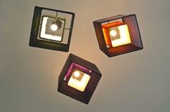 Group of beautiful lighting decor Stock Photography