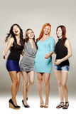 Group of beautiful women Royalty Free Stock Photo