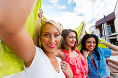Group of Beautiful Women Stock Photo