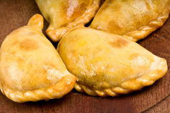 Group of beef empanadas Royalty Free Stock Image
