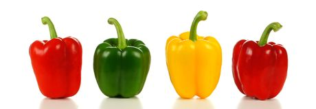 Group of bell peppers Royalty Free Stock Photography