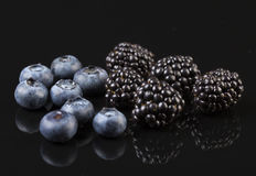 Group of berries Royalty Free Stock Image