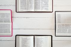 Group Bible Study stock photo