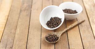 Group of black pepper Royalty Free Stock Photography