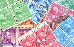 Group block stamps Royalty Free Stock Photos