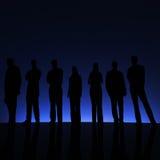 Group.Blue. Imagen de archivo libre de regalías