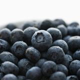 Group of blueberries. Royalty Free Stock Image