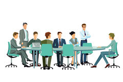 Group or board meeting Royalty Free Stock Photography