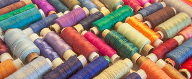 Group of bobbins Stock Images