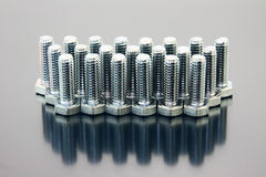 Group of bolts Stock Photos