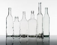 Group of bottles Royalty Free Stock Images