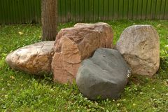 Group of boulders Royalty Free Stock Photography