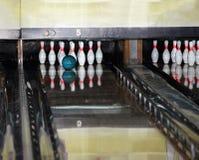 Group of  bowling skittles. Group of  bowling skittles and  ball. Still life Royalty Free Stock Photos