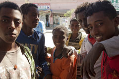 A group of boys, Ethiopia Royalty Free Stock Image