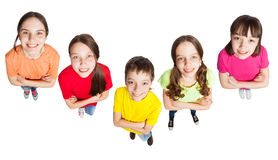 Group boys and girls Stock Photo