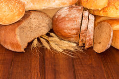 Group of bread Stock Image