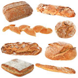Group of breads Royalty Free Stock Image