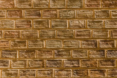 The group of brick as pattern for background Royalty Free Stock Photography