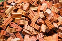 Group of bricks Stock Photography