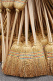 Group of broom Royalty Free Stock Photo