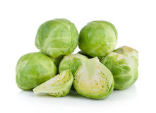 Group of Brussel Sprouts Royalty Free Stock Photography