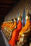 The group buddha statue Stock Image