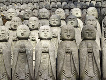Group of Buddhas statue Stock Photos